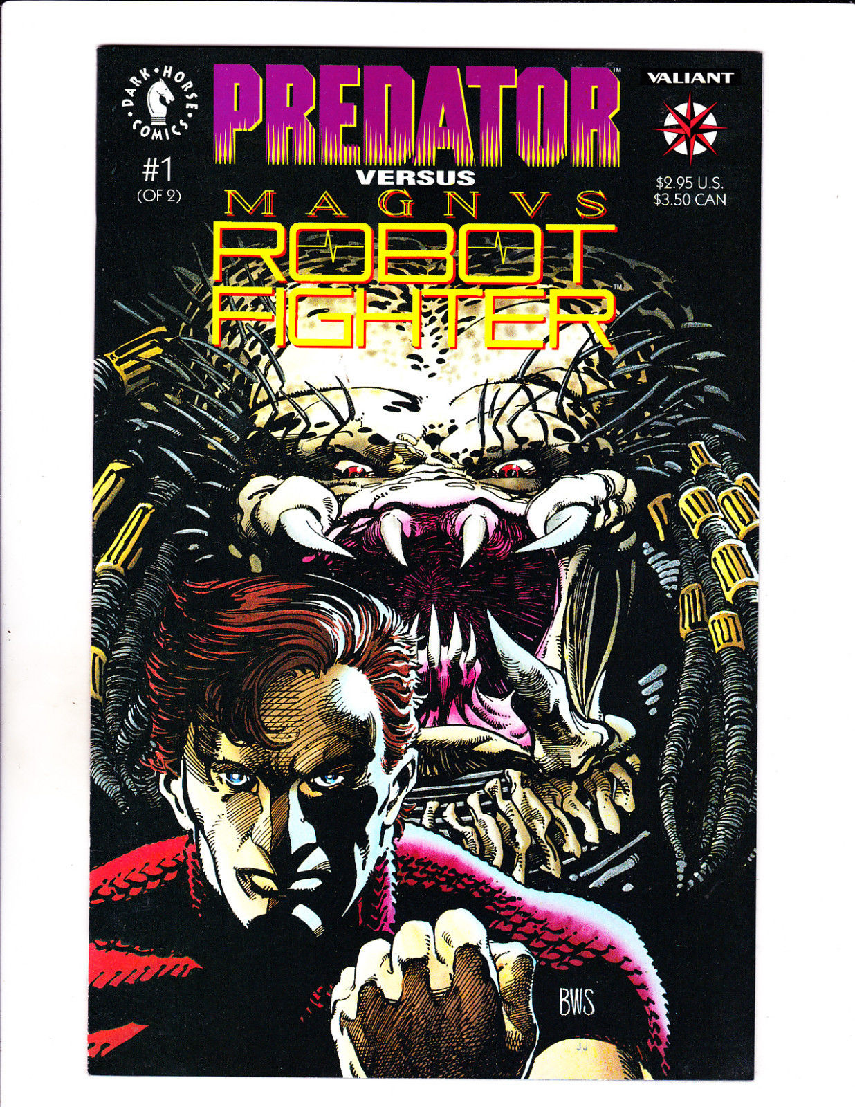 Predator Versus Magnus Robot Fighter #1-2 Nm Other Modern Age Comics 1st Print Dark Horse